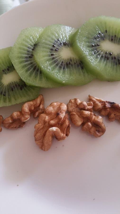 Frucht und Nüsse lizenzfreies stockbild