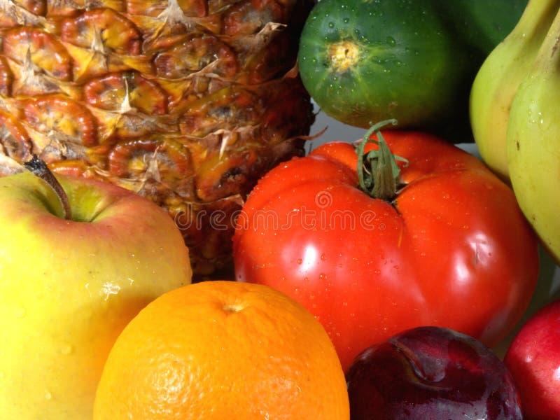 Frucht und veg stockbilder