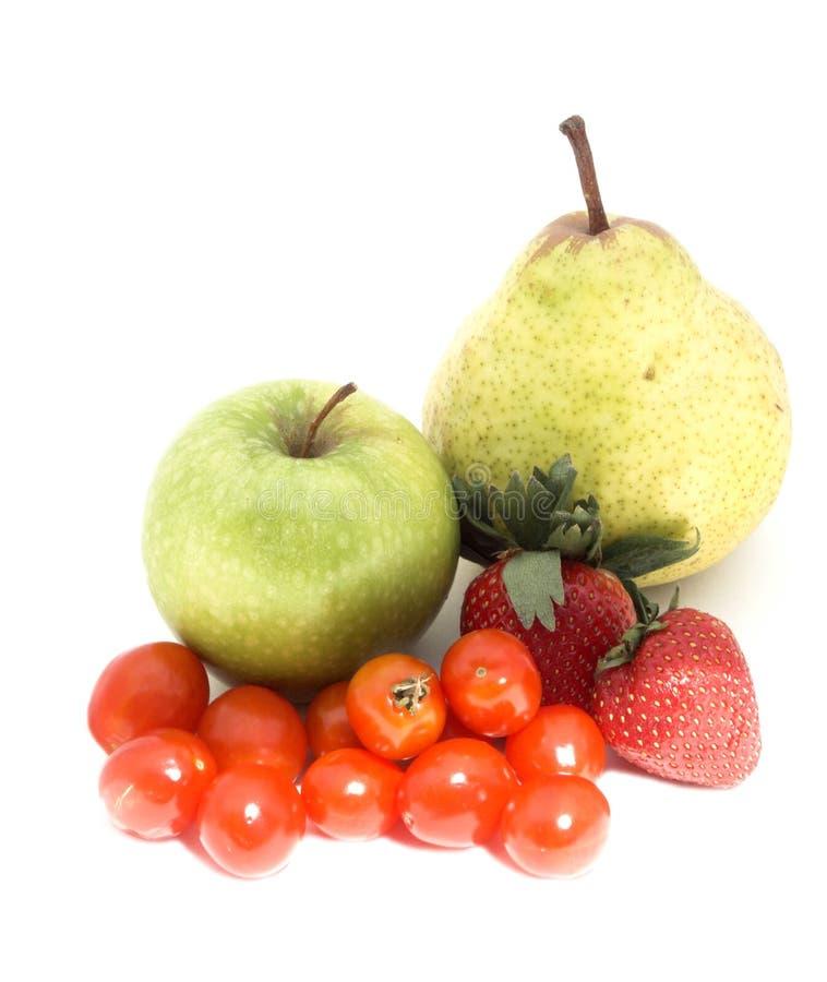 Frucht und veg stockfoto