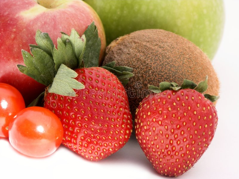 Frucht und veg stockfotos