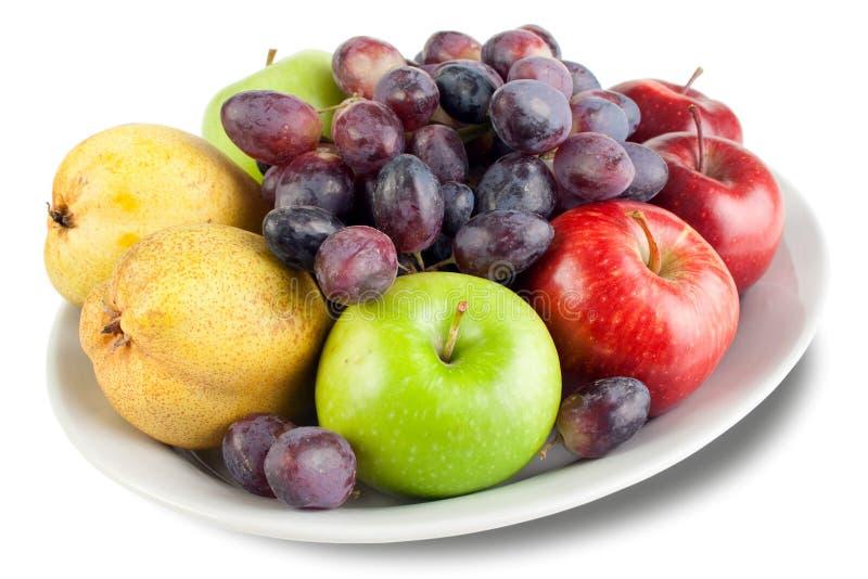 Fruchtanordnung stockbilder