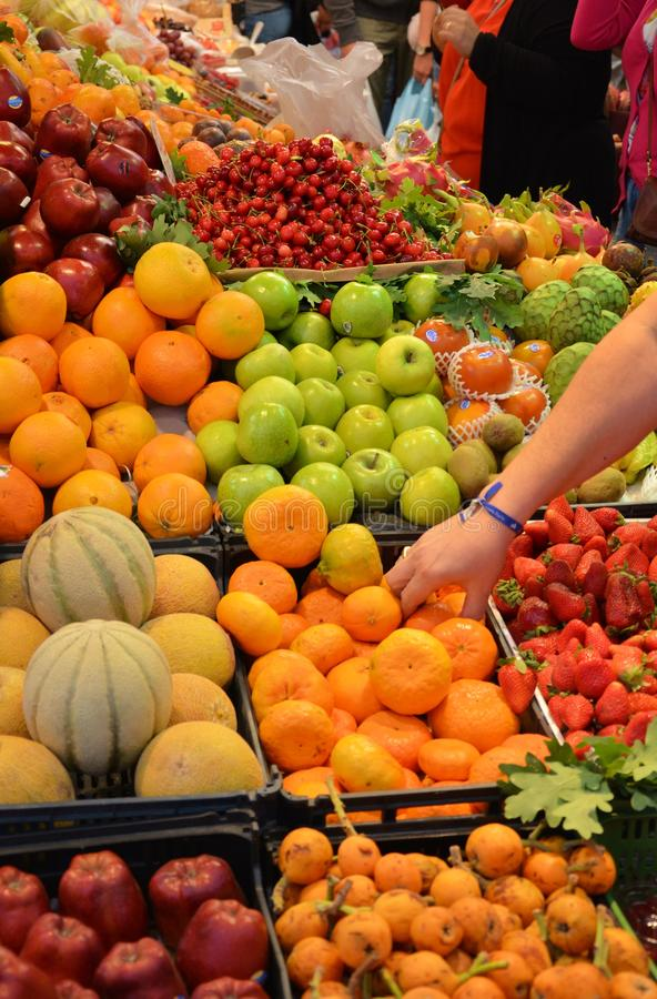 Fruchtbank stockbilder