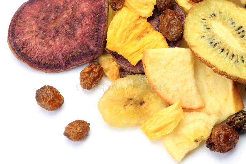 Fruchtchips stockfotos