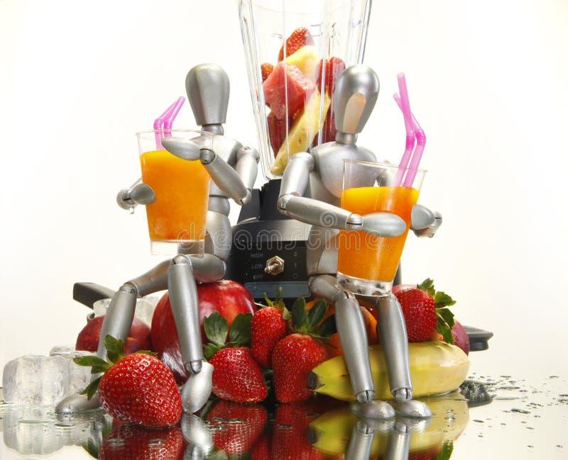 Fruchterschütterungen für Attrappen stockfotografie