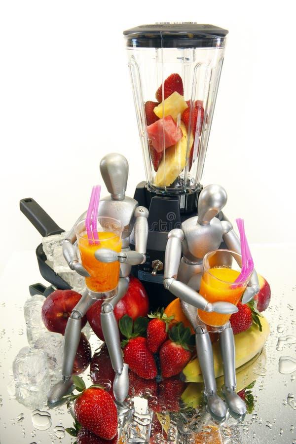 Fruchterschütterungen für Attrappen stockfotos