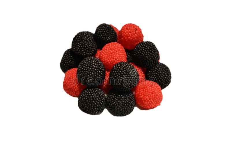 Fruchtgeleebonbons lizenzfreie stockfotos