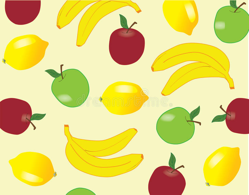 Fruchthintergrund lizenzfreie abbildung