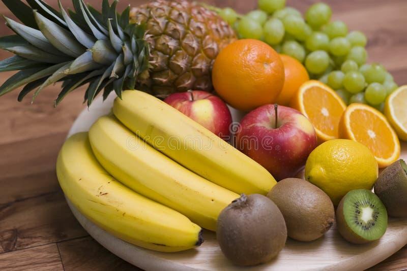 Fruchthintergrund stockfoto