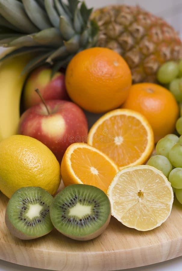 Fruchthintergrund lizenzfreie stockfotografie
