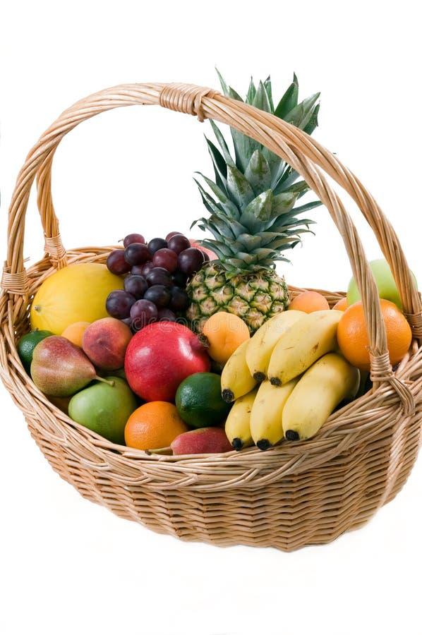 Fruchtkorb stockfotos