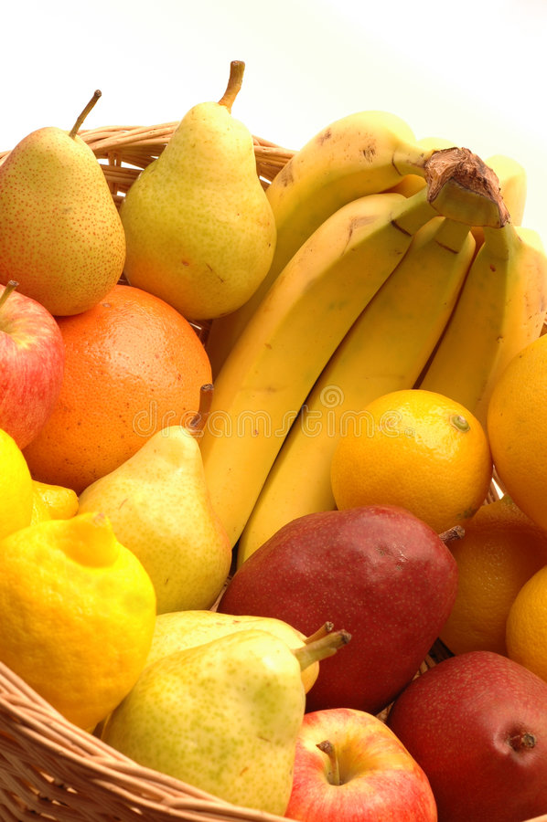 Fruchtkorb stockfotografie