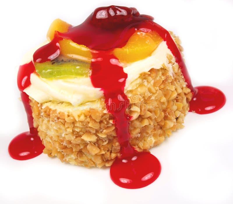 Fruchtkuchen lizenzfreies stockfoto