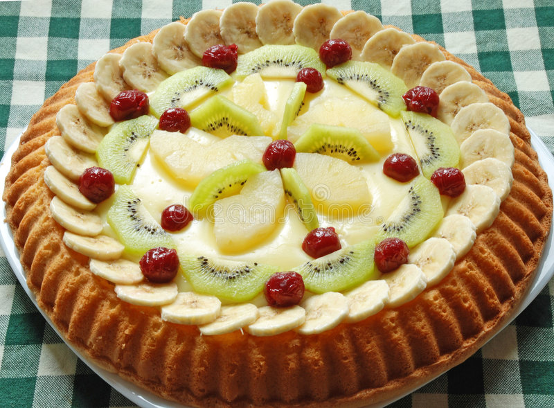 Fruchtkuchen lizenzfreie stockfotos