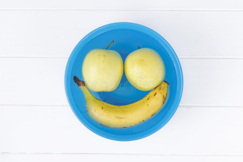 Fruchtlächeln kreativ lizenzfreies stockbild