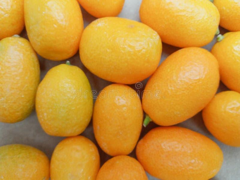Fruchtlebensmittel der japanischen Orange stockbild