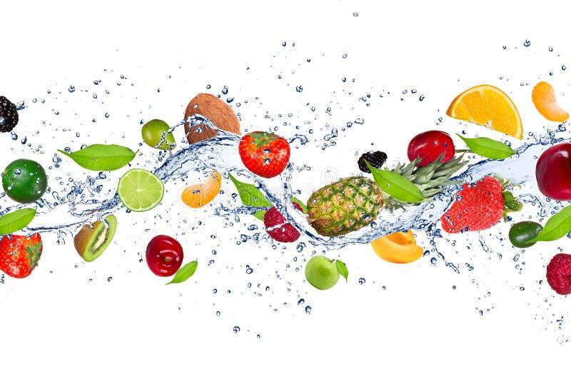 Fruchtmischung stockbild