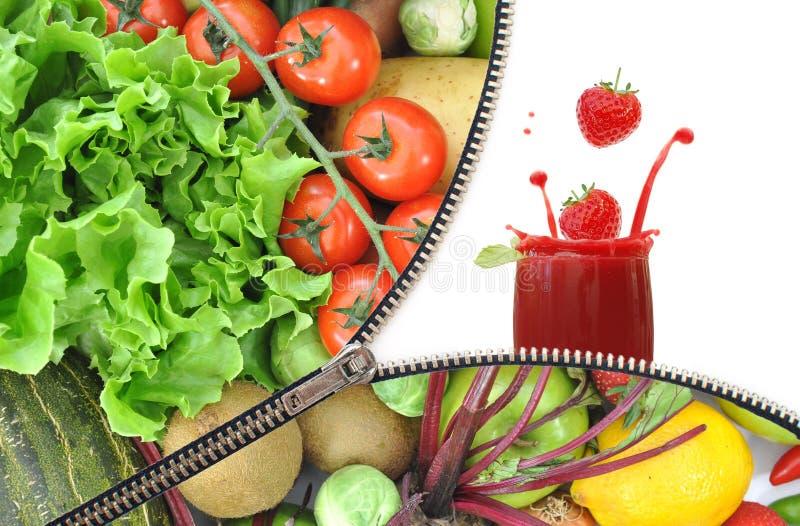 Fruchtreißverschluß lizenzfreies stockfoto