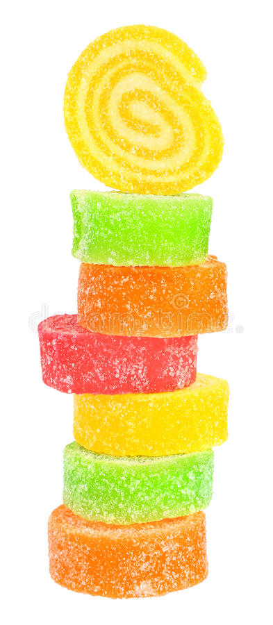 Fruchtsüßigkeit lizenzfreie stockbilder