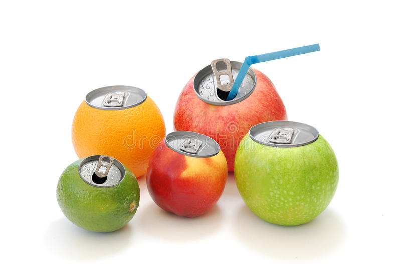 Fruchtsaft stockfoto