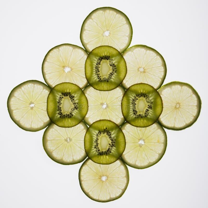 Fruchtscheiben. lizenzfreies stockfoto
