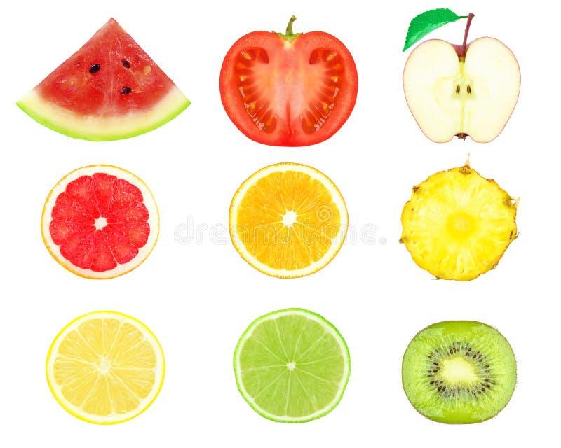 Fruchtscheiben lizenzfreie stockfotografie