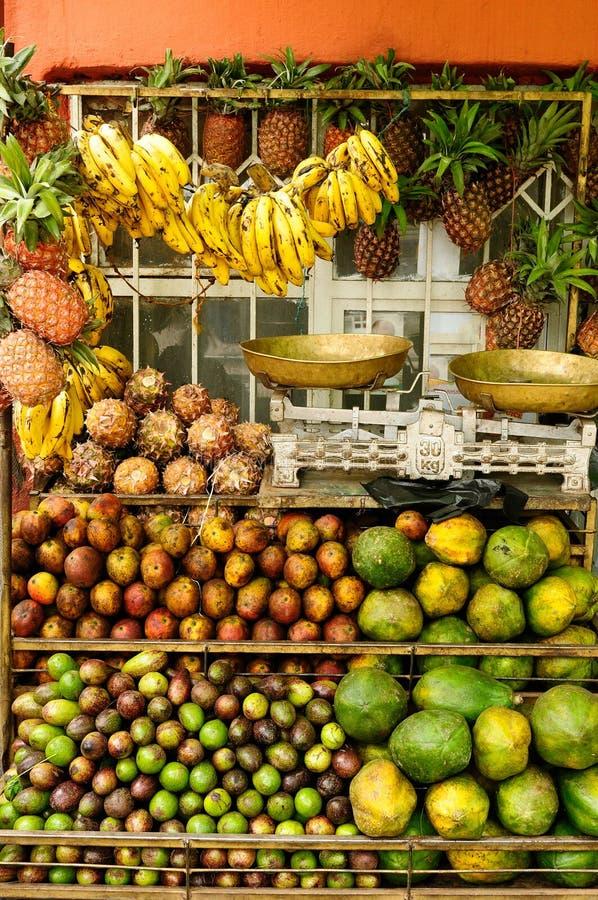 Fruchtstall in Äthiopien lizenzfreies stockfoto