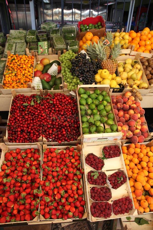 Fruchtstand stockbild