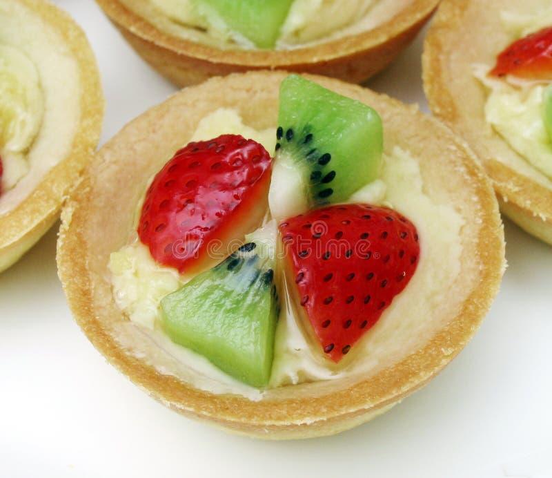 Fruchttörtchen lizenzfreies stockbild