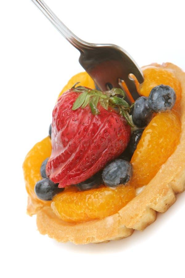 Fruchttörtchen stockfotografie