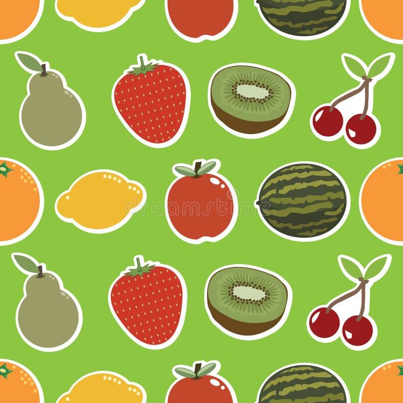 Fruchttapete vektor abbildung