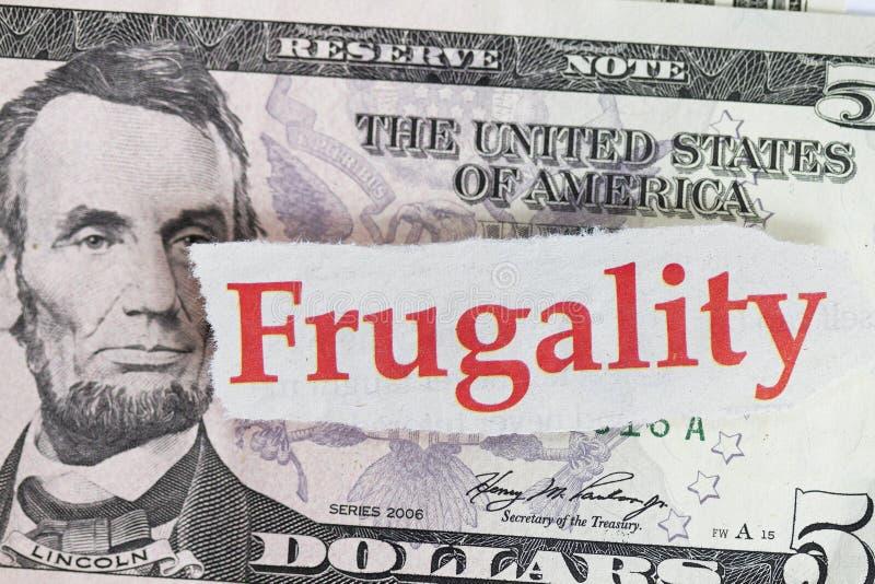 frugality zdjęcie royalty free