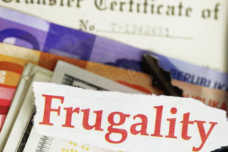 frugality fotografia stock