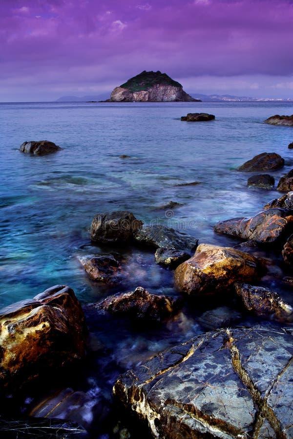 Frugoso beach royalty free stock photography