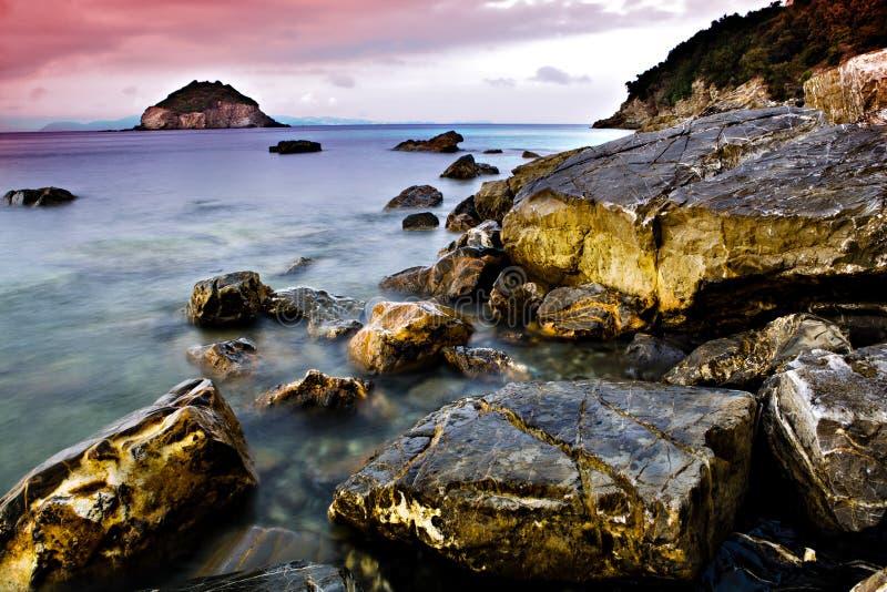Frugoso beach stock photography