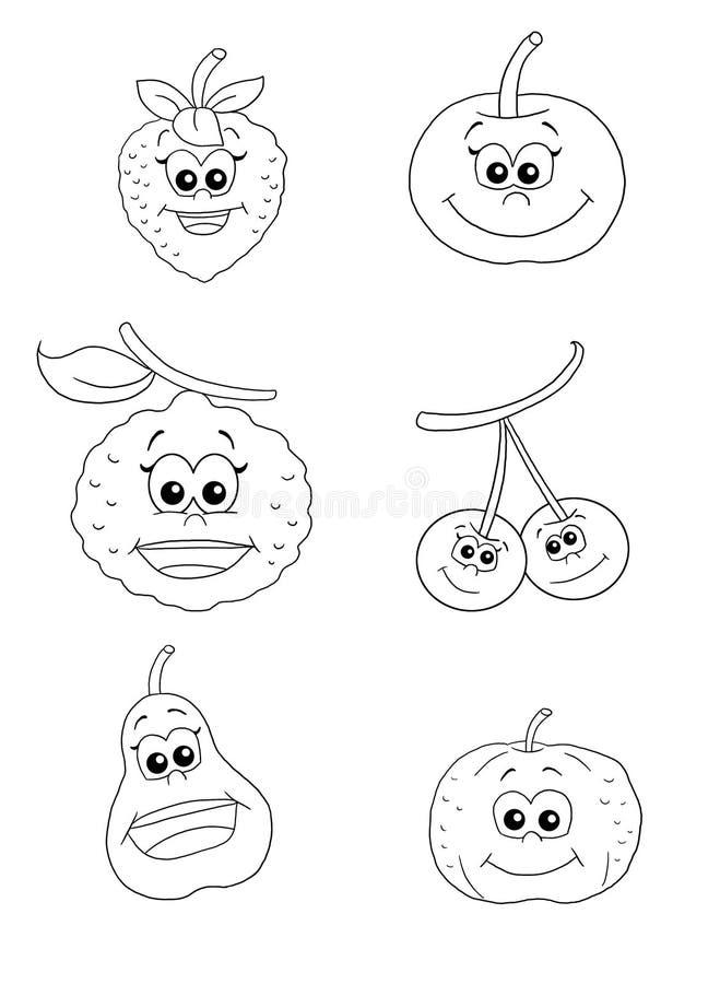 Fruit 1 - Bw Stock Images