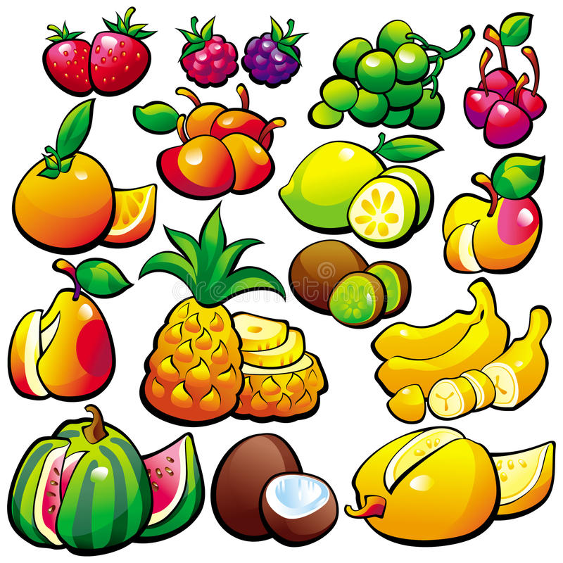 Fruit vector illustratie