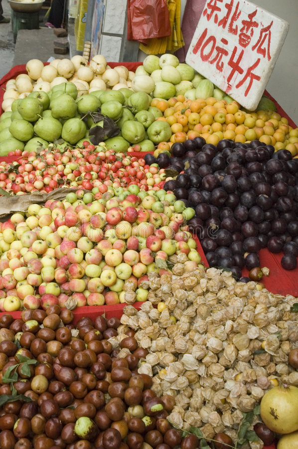 Download Fruit stock photo. Image of pears, farmer, display, apples - 453846