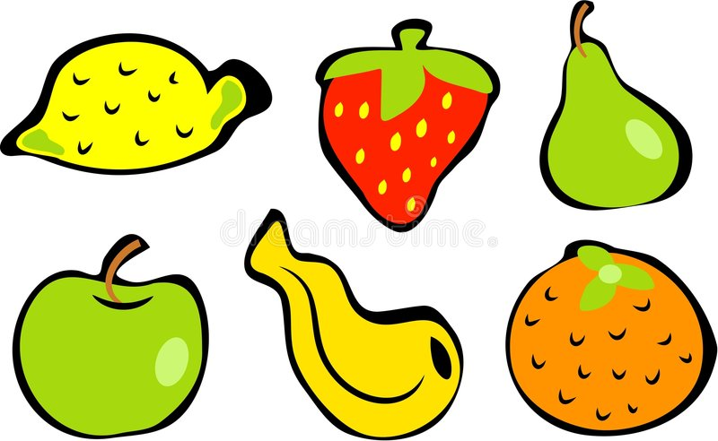 Download Fruit illustration de vecteur. Illustration du isolement - 90906