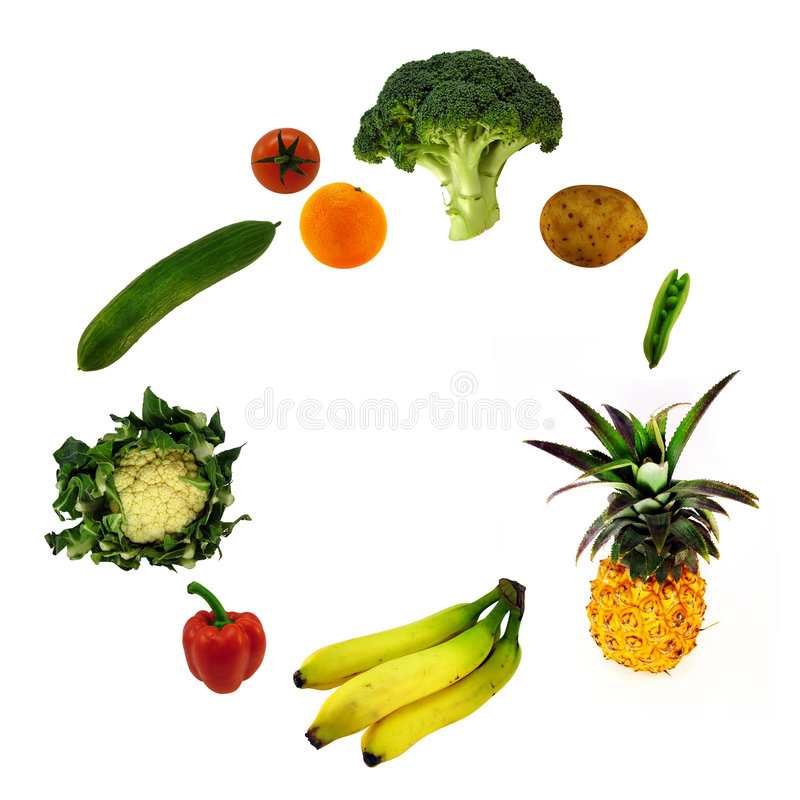 Free Fruit And Vegetables Stock Photos - 3130113