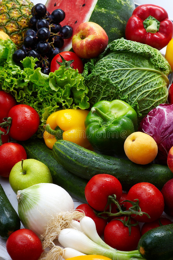 Free Fruit And Vegetables Royalty Free Stock Image - 7134956