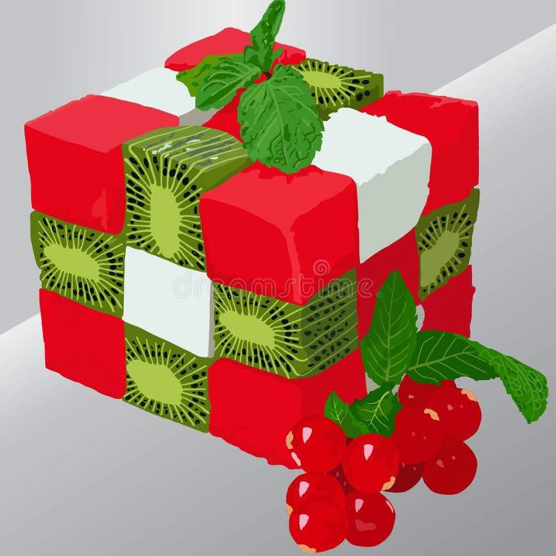Fruit assorti illustration libre de droits
