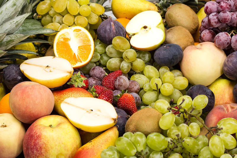 Download Fruit background stock photo. Image of grapes, many, ripe - 33814446
