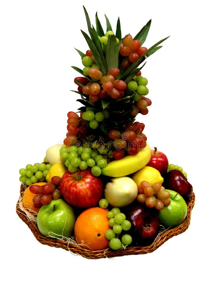 Download Fruit Basket stock photo. Image of sculpture, healthy - 3097230