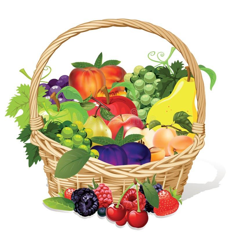 Free Fruit Basket Stock Images - 43107414
