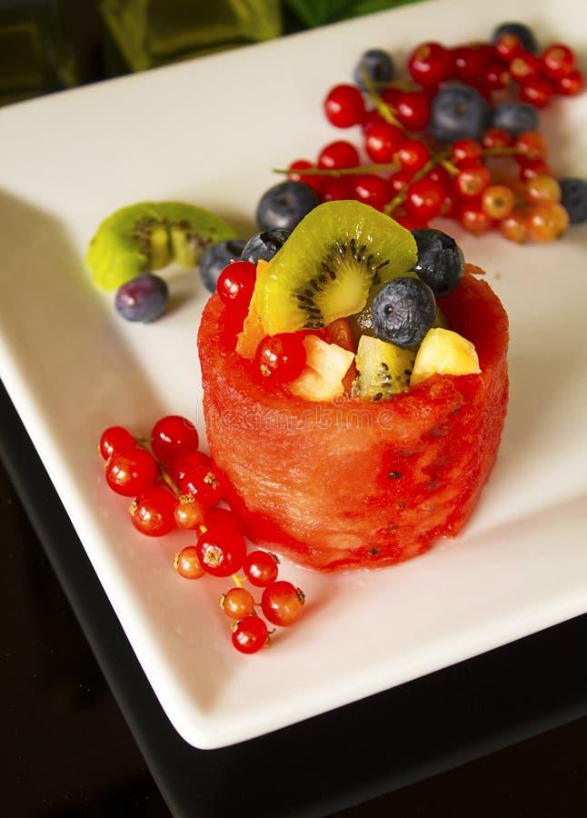 Download Fruit Basket On White Stock Image - Image: 32447381