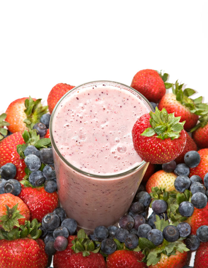 Free Fruit Berry Smoothie Stock Images - 9838064