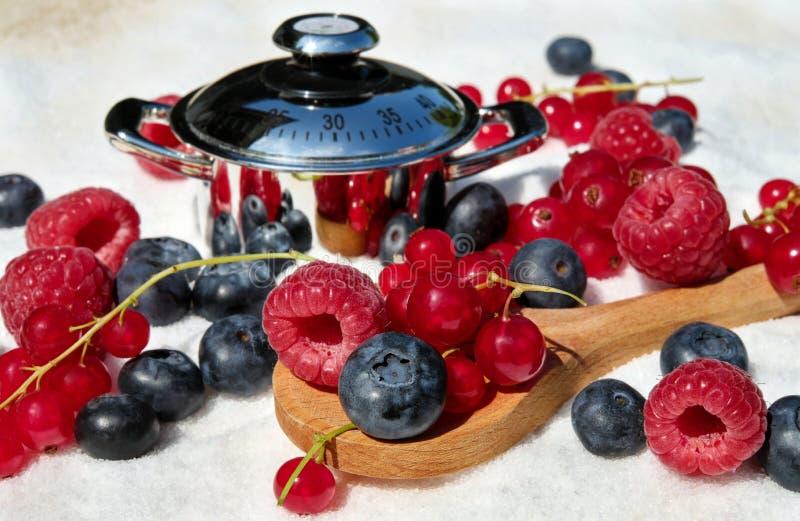 Fruit, Bes, Voedsel, Frutti Di Bosco stock foto's