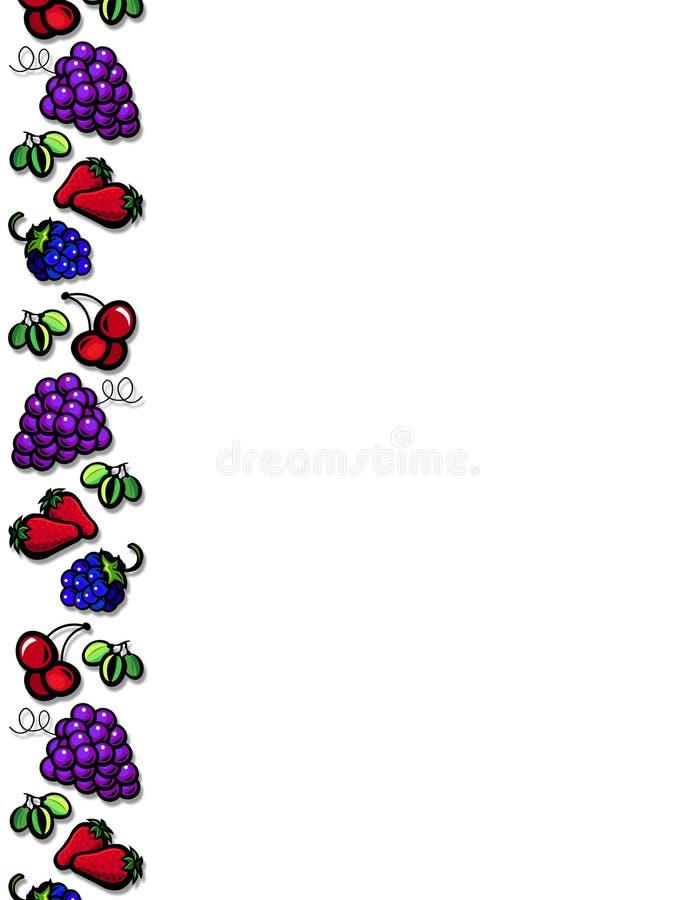 Fruit border royalty free stock photo