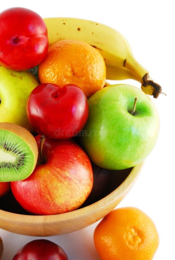 Download Fruit bowl stock photo. Image of white, healthy, banana - 2306658