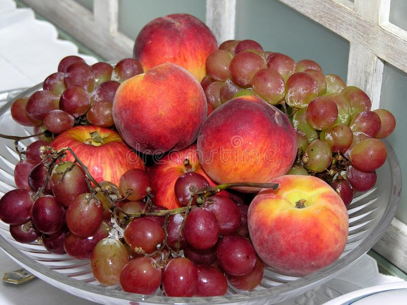 Fruit bowl stock photography